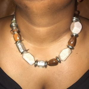 Beautiful Chunky Stretchy Necklace